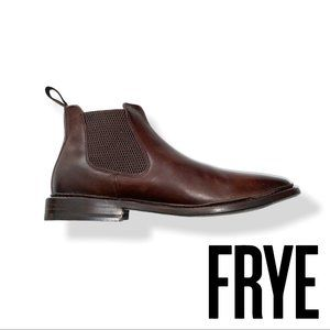 Frye Men's Paul Chelsea Boot, Dark Brown, 7M